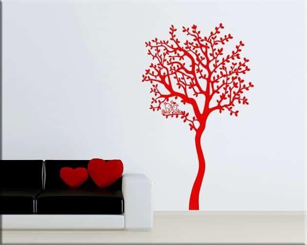 wall stickers albero love arredo