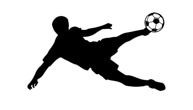 Lavagne adesive da parete calcio calciatore