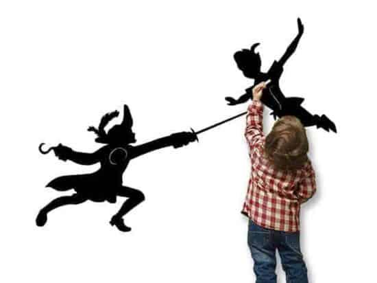 Lavagne adesive murali Peter Pan camerette