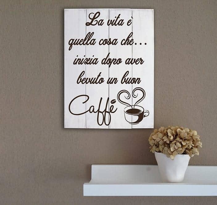 Shabby chic pannelli decorativi in legno caff arredo bar for Quadri decorativi arredamento