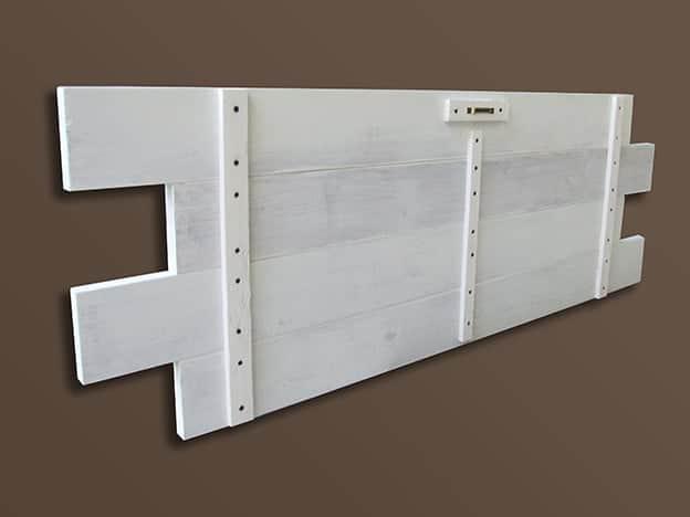Pareti In Legno Shabby : Shabby chic pannelli in legno personalizzati da parete