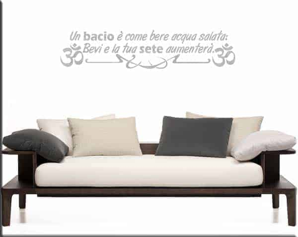 wall stickers frase proverbio cinese arredo