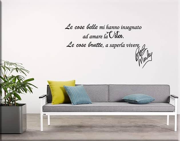 Stiker murali frasi for Adesivi da attaccare al muro