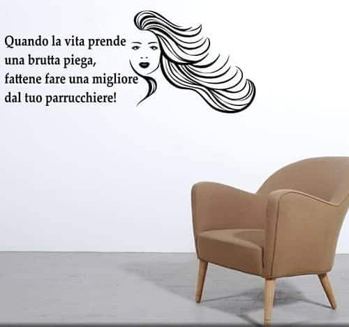 Amato Adesivi murali frasi aforismi, un nuovo modo per arredare OL36