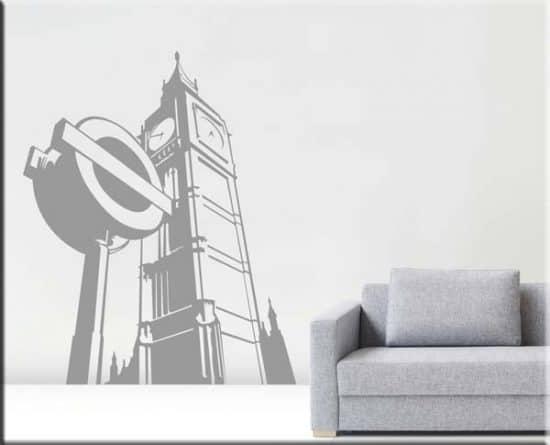 Adesivi da parete London city arredo casa