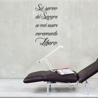 Adesivi Da Parete Frase Sapere Seneca Arredo