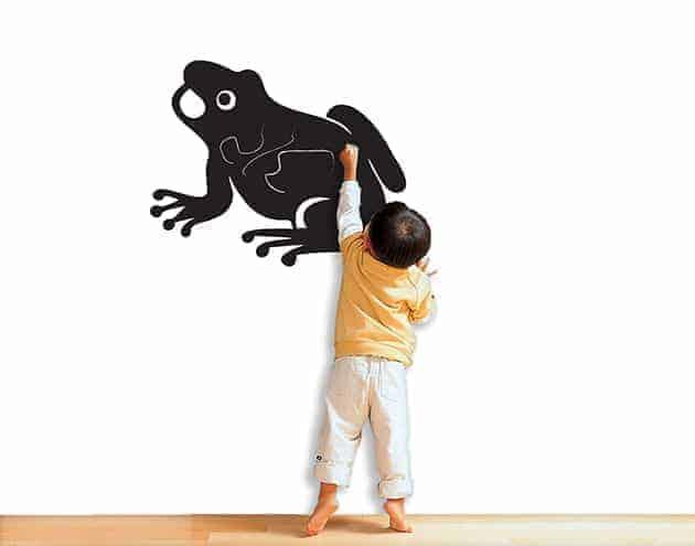 Lavagne adesive murali bambini rana arredo