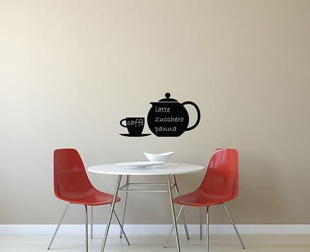 Lavagne adesive murali caff cucina arredo for Lavagne da arredo