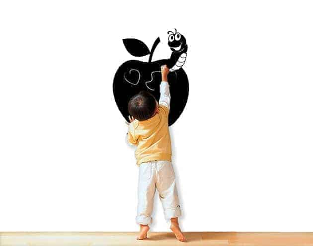 Lavagne adesive murali mela cucina arredo