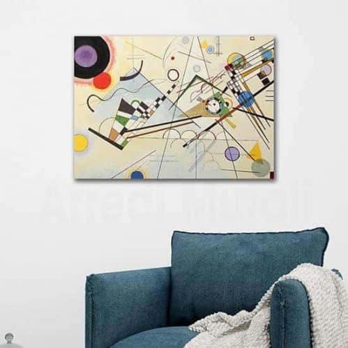Quadro riproduzione Kandinsky composizione VIII
