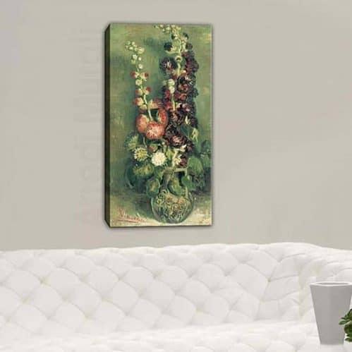 riproduzione Vaso di Altee opera di Van Gogh