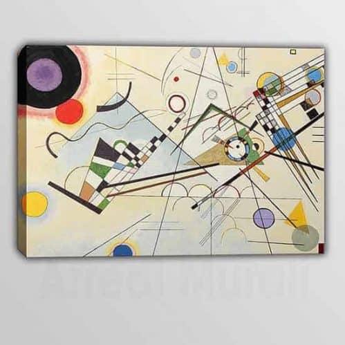 Riproduzione quadro Kandinsky composizione VIII