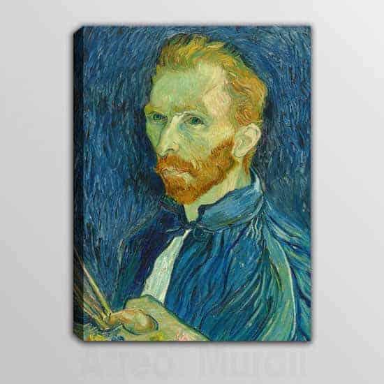 quadro moderno con riproduzione di Van Gogh Autoritratto