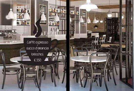 lavagne adesive caffè arredo bar