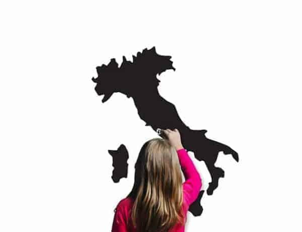lavagne adesive murali Italia arredo casa