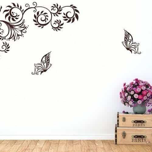 Adesivi da muro stilizzati - Stickers da parete personalizzati ...