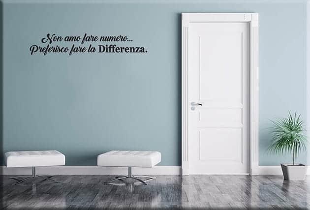 wall stickers frasi aforismi arredo casa ufficio