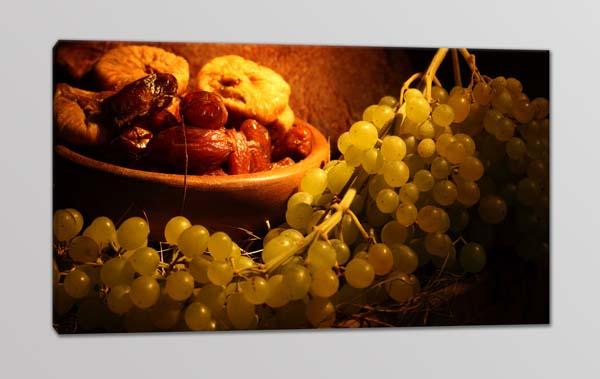 Quadro moderno uva cucina arredo