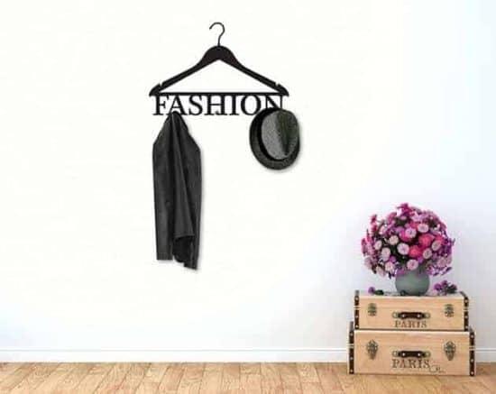 adesivi murali appendiabiti fashion arredo