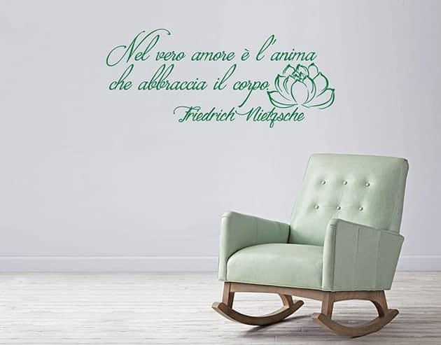 wall stickers frase Friedrich Nietzsche