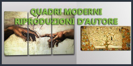 quadri moderni riproduzioni d'autore