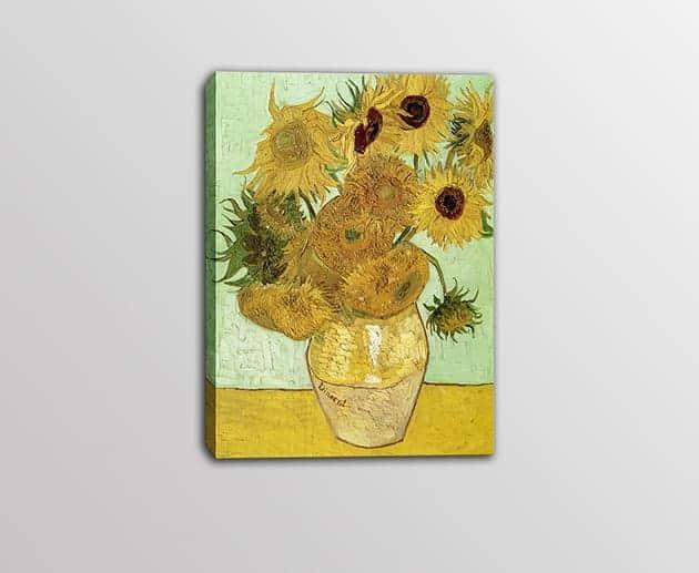 quadro moderno Vincent Van Gogh Vaso di girasoli