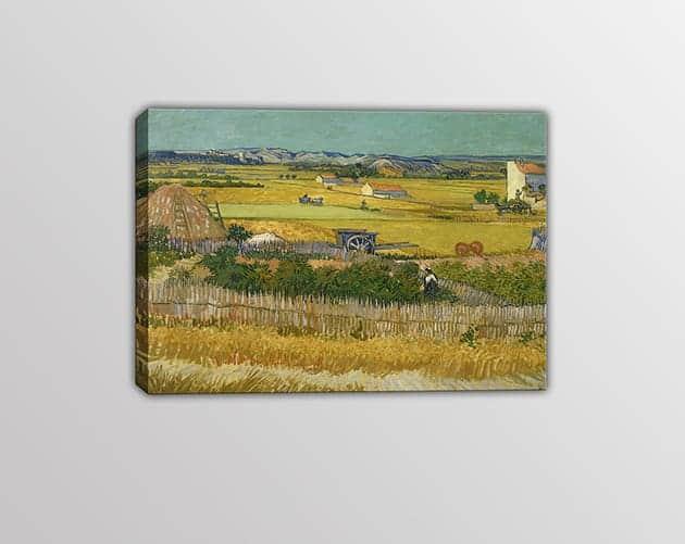 quadro moderno Vincent Van Gogh il raccolto