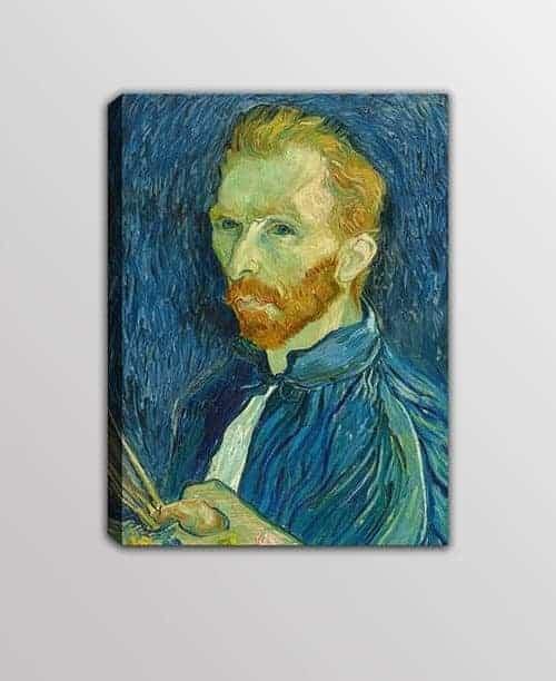 quadro moderno autoritratto Vincent van Gogh