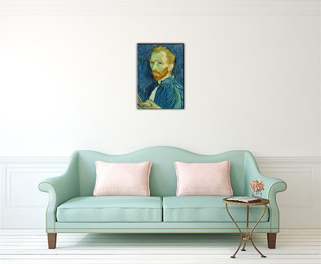 quadro moderno autoritratto van Gogh