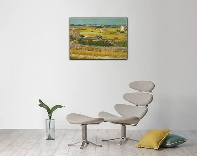 quadro moderno il raccolto Van Gogh
