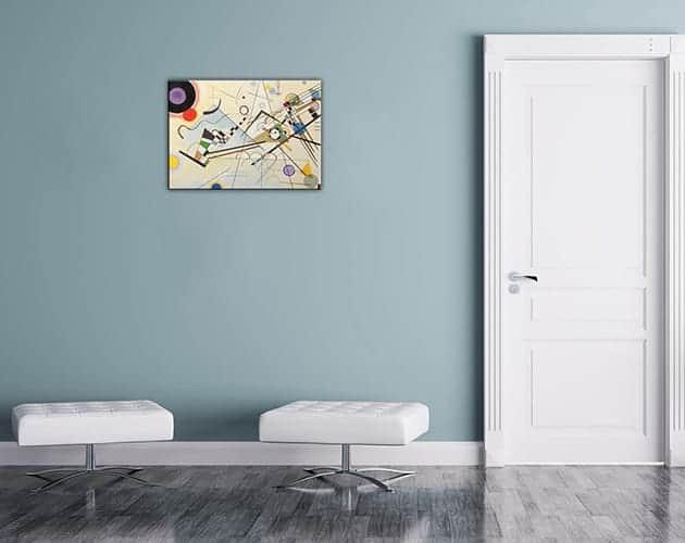 quadro moderno stampa Kandinsky arredo