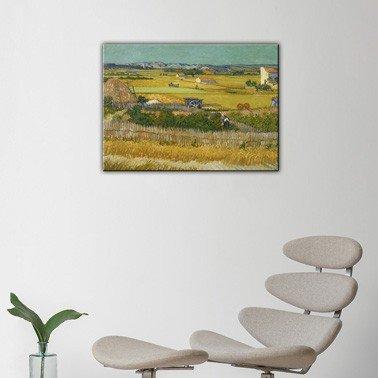 quadro moderno stampa Van Gogh il raccolto