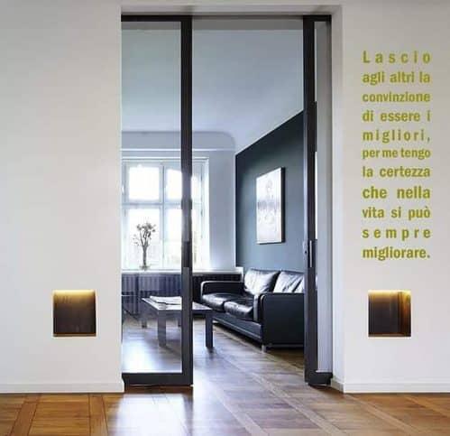 wall stickers frase personalizzata verticale