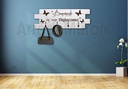 Shabby pannelli personalizzati appendiabiti in legno2
