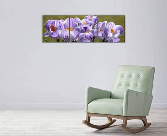 quadri moderni fiori stampe su tela