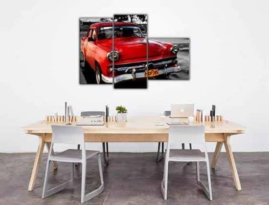 quadri moderni stampe su tela auto vintage