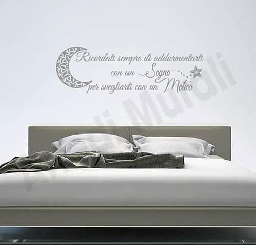 Adesivi murali camera da letto per decorare le pareti |Arredi Murali|