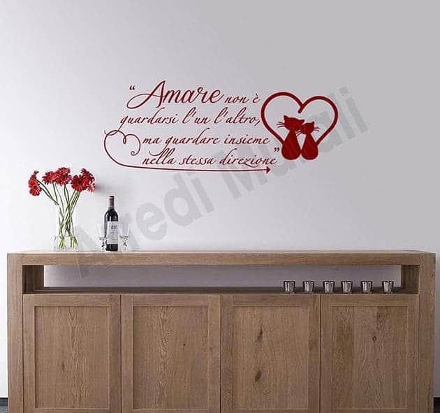 decorazioni da parete frase Antoine de Saint-Exupéry