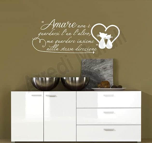 wall stickers frase Antoine de Saint-Exupéry
