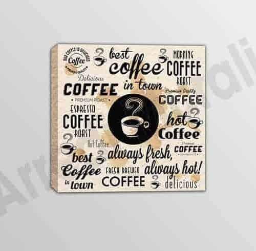 Quadro moderno miglior caffè bar arredo