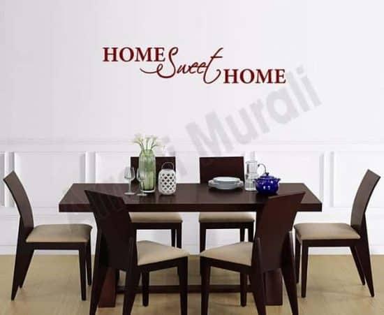 adesivi da parete home sweet decorazioni arredo