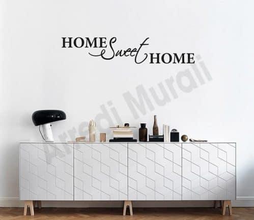 adesivi murali home sweet decorazioni arredo