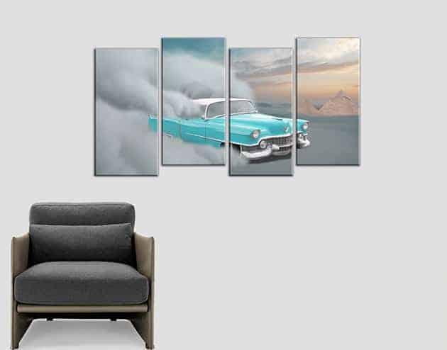 quadri moderni stampe tela auto vintage