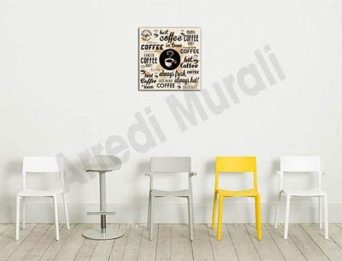 quadro moderno miglior caffè bar arredo stampa
