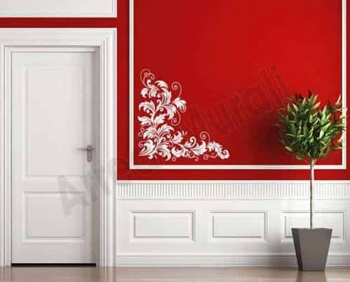 Adesivi da parete decorazioni floreali arredo