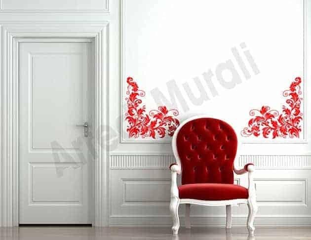 Adesivi da parete decorazioni floreali arredo for Decorazioni a parete