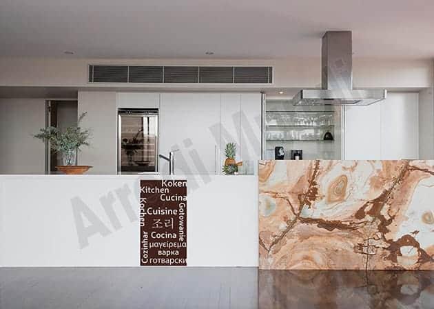 adesivo da parete cucina arredo moderno