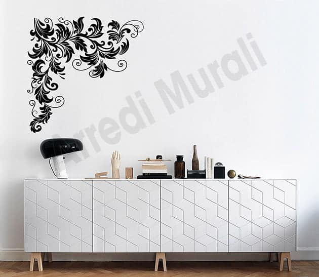 wall stickers decorazioni floreali arredo