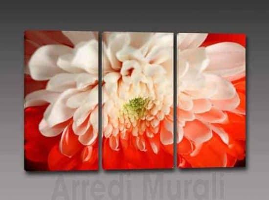 Quadri moderni stampa su tela fiore arredo