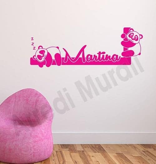 Adesivi murali personalizzati realizziamo ci che vuoi con for Adesivi da attaccare al muro